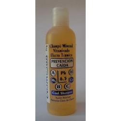 CHAMPU MINERAL VITAMINADO PREVENCIÓN CAIDA (efecto frío) 200 ml.