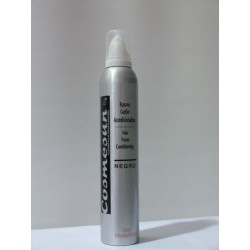 ESPUMA ACONDICIONADORA COLOR NEGRO 300 ml.