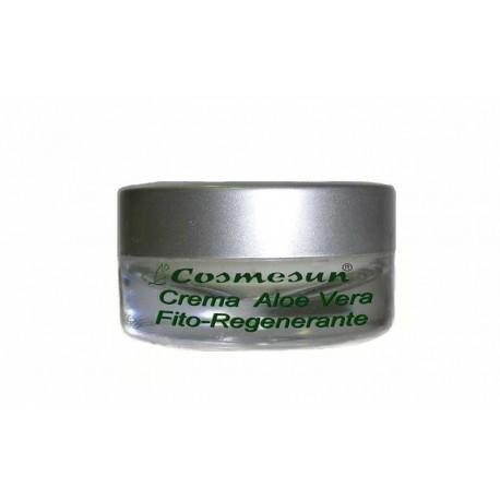 CREMA FITO-REGENERANTE CON ALOE VERA. C. 5 ml.