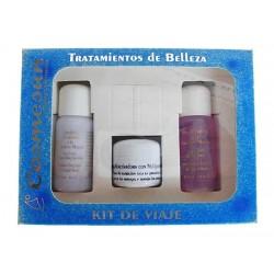KIT DE VIAJE PARA PIELES SECAS Y NORMALES, 15+15+10 ml