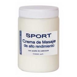 CREMA DE MASAJE SPORT. C. 1000 ml.