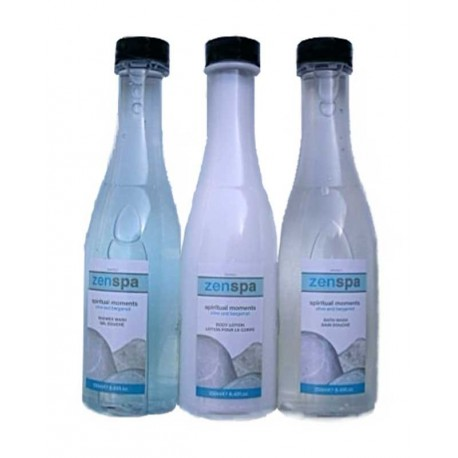 SET BAÑO ZEN SPA. C.3 x 250 ml.