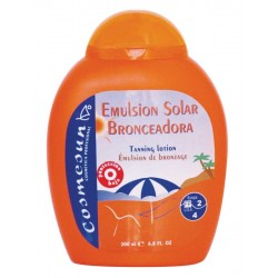 SOLAR TANNING LOTION SPF2/4 .C. 200 ml.