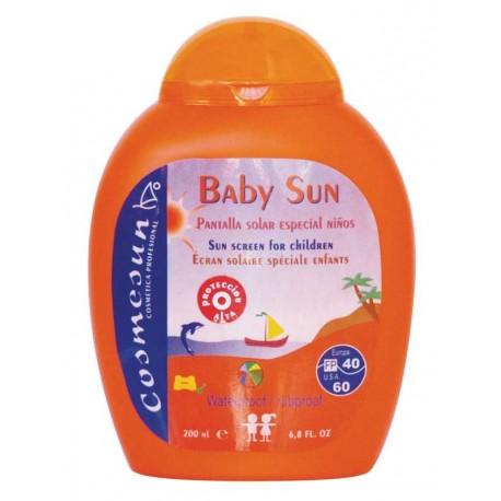 BABY SUN - PANTALLA SOLAR ESPECIAL NIÑOS FP40/60. C.200 ml.