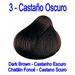 3 CASTAÑO OSCURO