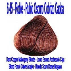 6.45 ROBLE - RUBIO OSCURO COBRIZO CAOBA