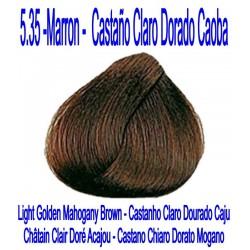 5.35 MARRÓN - CASTAÑO CLARO DORADO CAOBA
