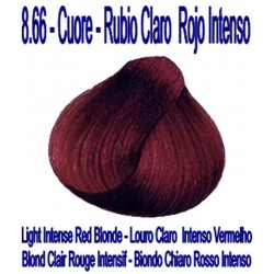 8.66 CUORE - RUBIO CLARO ROJO INTENSO