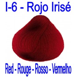 I-6 RED IRISÉ - CITRIC RED