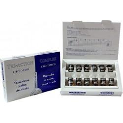 TRI-ACTION COMPLEX (Tratamiento Caída,Caspa,Grasa) 12u.x10 ml